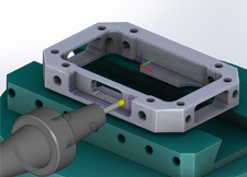 SolidCAM Indexial-Multi-Axis-Maching