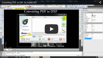 Converting PDF to DXF ใน GstarCAD - Applicad Public Company