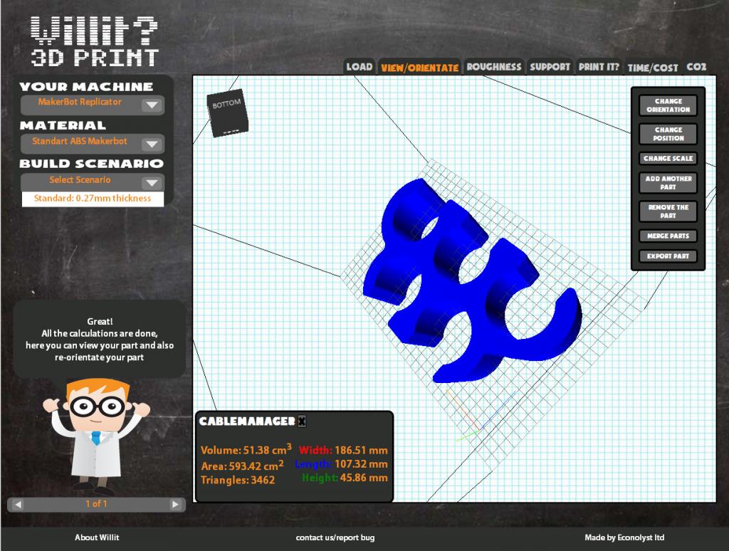 Best 3D Printing Software #14: Willit 3D Print