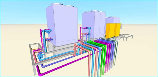 CADEWA กับงานระบบ Piping ที่ง่ายต่อการเคลียร์แบบสรุปปริมาณ