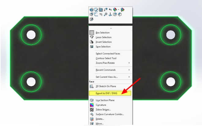 วิธีการ Export ไฟล์ DXF / DWG