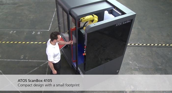 เครื่องรุุ่น ATOS ScanBox 4105