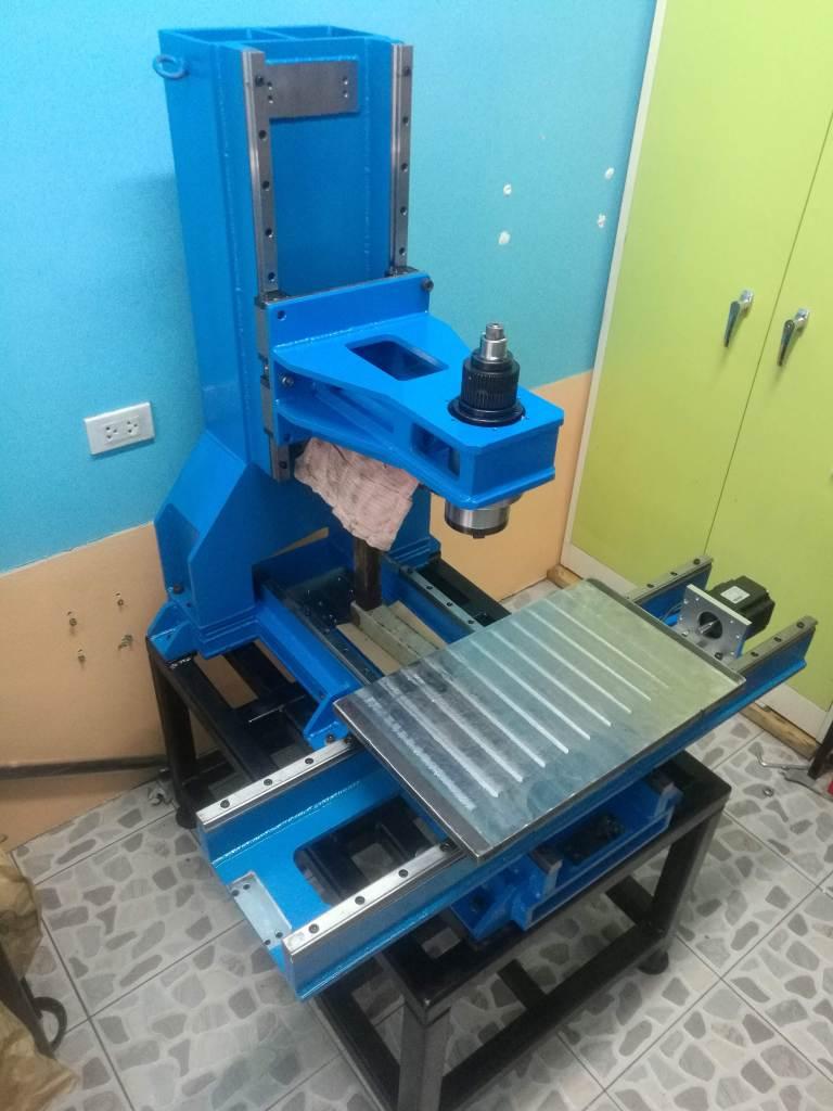 DIY สร้างเครื่อง CNC ด้วยตัวเอง EP5_งานเหล็ก_15