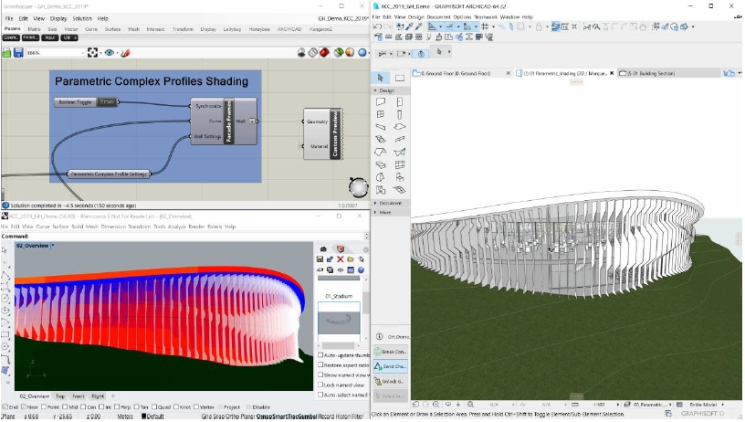 ARCHICAD 23 : Parametric Complex Profiles Shading