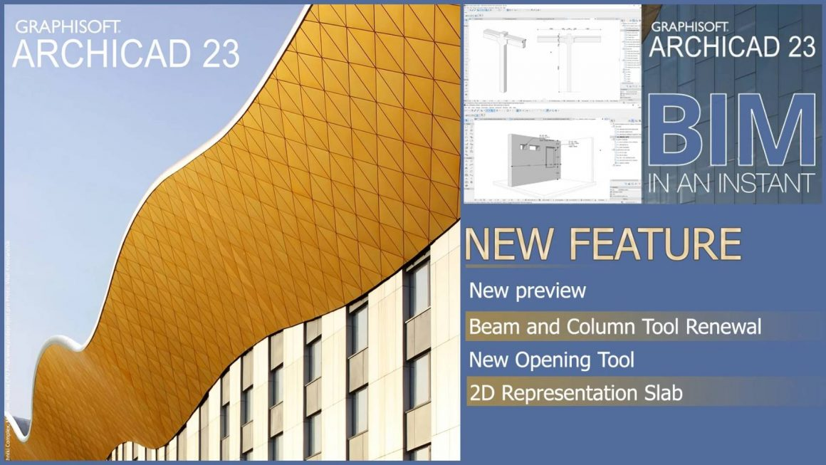What's New ArchiCAD 23