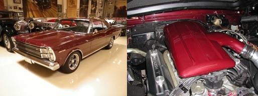 Left: 1966 Ford Galaxie Right: Air Intake Plenum
