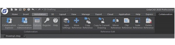 GstarCAD Features Collaboration Features