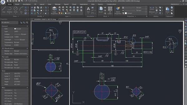 GstarCAD Features New Interface