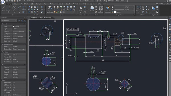 GstarCAD 2020 - New Interface