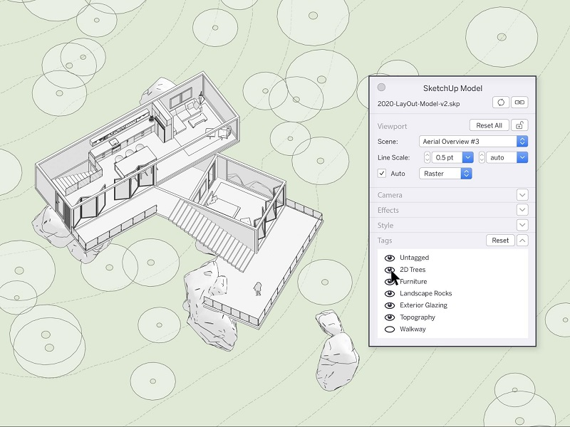 Improving the interaction between LayOut & SketchUp