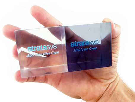 Stratasys J850 VeroUltra Clear