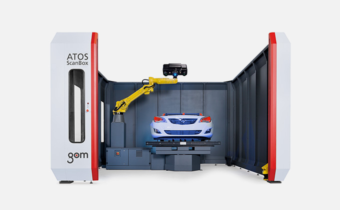 GOM Inspection Scanner : ATOS ScanBox Series 6
