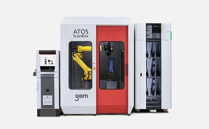 GOM Inspection Scanner : ATOS ScanBox BPS