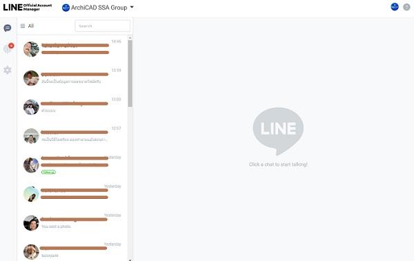Account line@ ARCHICAD