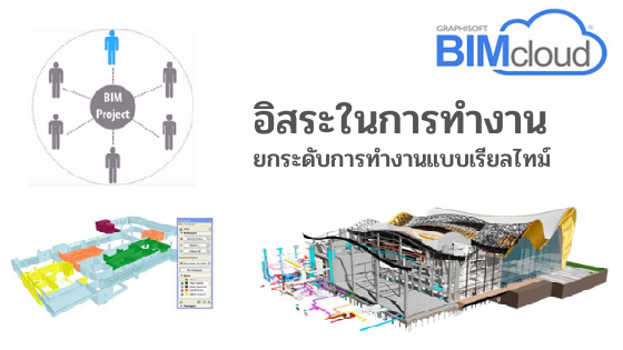 BIMcloud Teamwork : อิสระในการทำงานด้วย Teamwork & BIMcloud ยกระดับการทำงานแบบเรียลไทม์