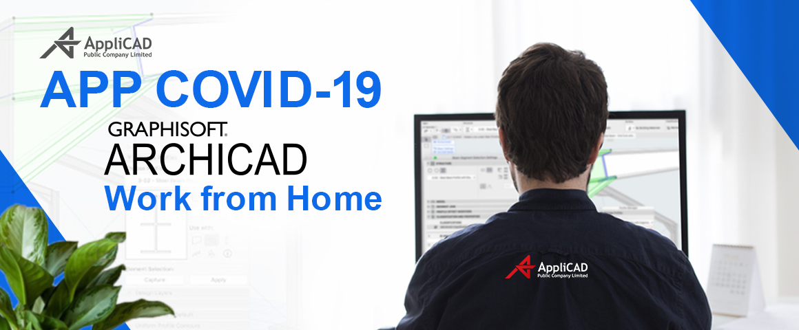 APP COVID-19 ARCHICAD Work from home - Desktop