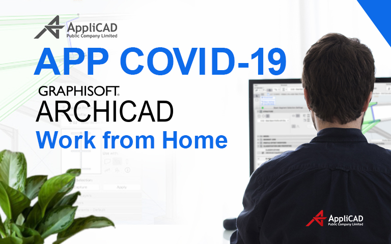 APP COVID-19 ARCHICAD Work from home - Tablet