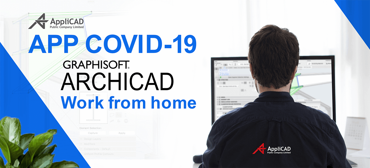 APP COVID-19 ARCHICAD Work from home
