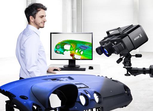 ATOS_5X Industrial 3D Metrology