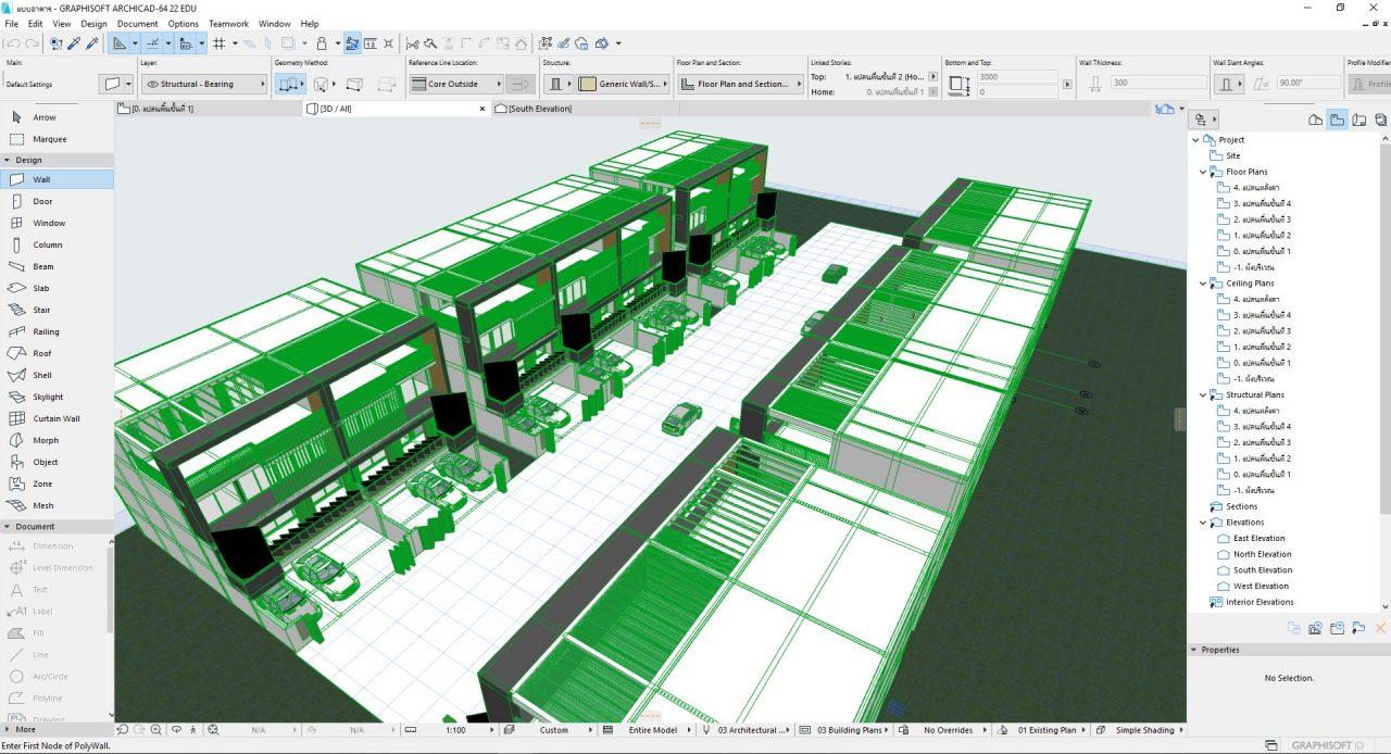 GstarCAD (2D CAD) ทำงานร่วมกับ BIM ด้วยไฟล์ IFC