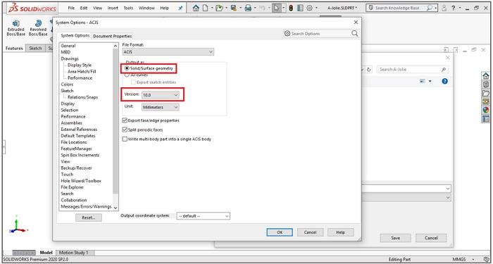 วิธีการนำโมเดลจากโปรแกรม SOLIDWORKS to SketchUp