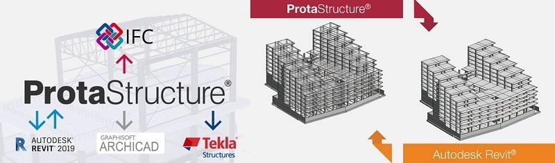 ProtaStructure วิเคราะห์ออกแบบโครงสร้าง 3 มิติ เชื่อมต่อกับ IFC ได้ อย่าง ArchiCAD, Revit, Tekla