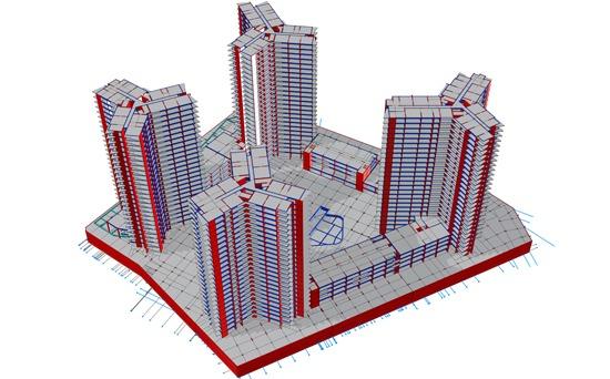 ออกแบบ วิเคราะห์โครงสร้างอาคาร