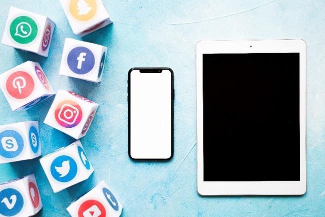 Social Facebook, Instagram, Netflix, twitter