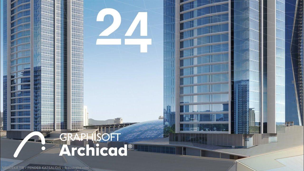 ArchiCAD โปรแกรมออกแบบบ้านอาคาร