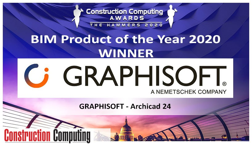 Archicad_Product Of The Year 2020 (Construction Computing Award, UK)