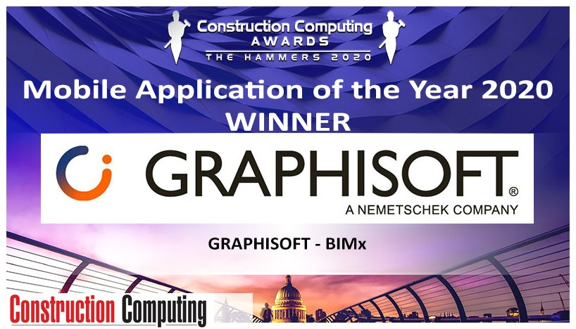 BIMx_Mobile Application of the year 2020 (Construction Computing Award, UK)