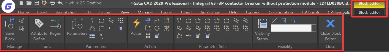 เมื่อเลือก Block แล้วจะเข้าสู่หน้าต่างแก้ไข Block และโปรแกรมจะเปิดเมนู Block Editor