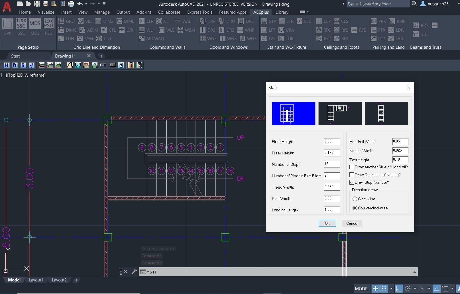เสริมทัพ AutoCAD2021 ช่วยเขียนแบบบ้านและอาคาร ด้วย Add-on AECPlus (โหลดฟรี)