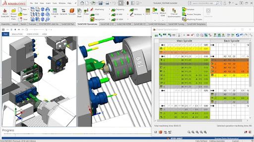 SolidCAM เป็นโปรแกรม CAM ที่ดีที่สุด ที่ทำงานบน SOLIDWORKS