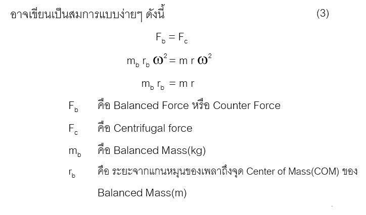 หาค่าความสมดุลของชิ้นงาน (Balancing) ทำอย่างไร
