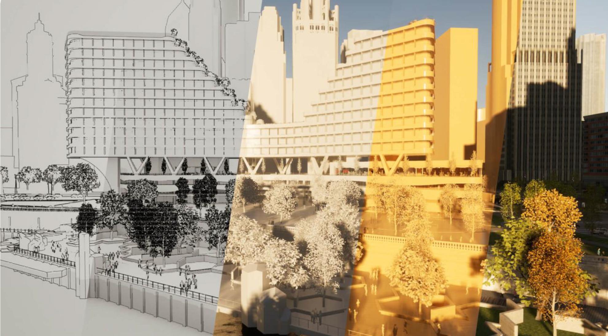 Twinmotion 2021.1 : Nonrealistic rendering styles
