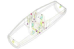 SOLIDWORKS Plastics Air trap