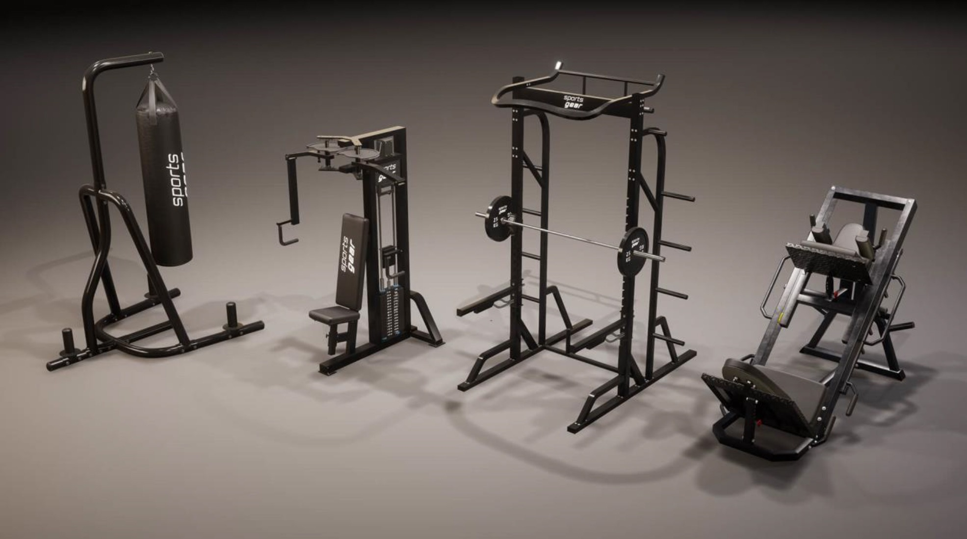 Twinmotion 2021.1 : New trees, humans, and workout furniture assets
