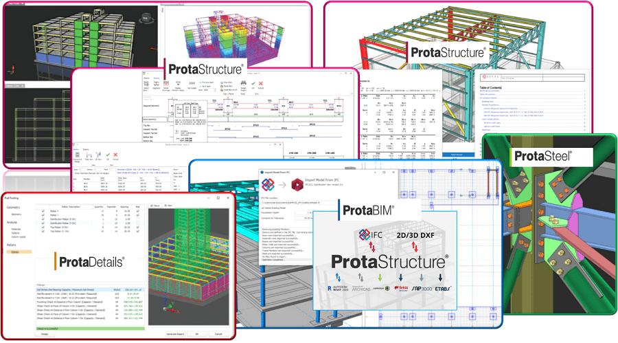 ProtaStructure ซอฟต์แวร์วิเคราะห์และ ออกแบบโครงสร้าง