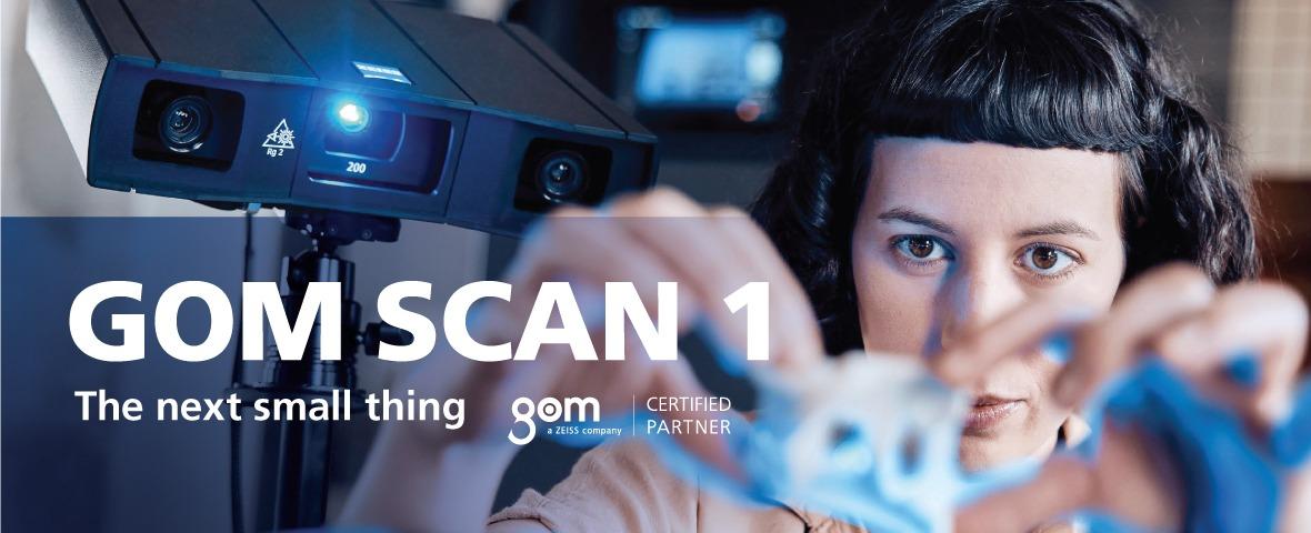 GOM Scan 1 สแกน 3 มิติ - The next small thing