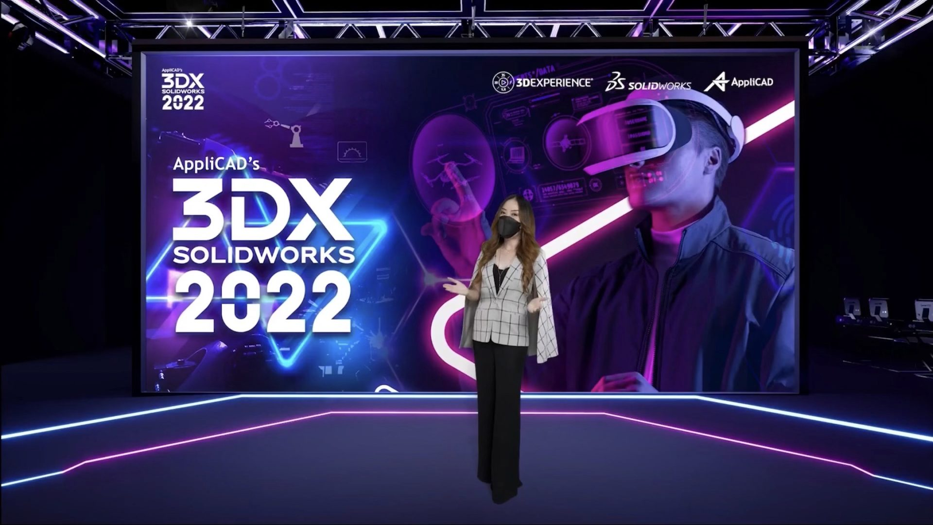 AppliCAD's 3DExperience SOLIDWORKS ในรูปแบบออนไลน์ Virtual Event